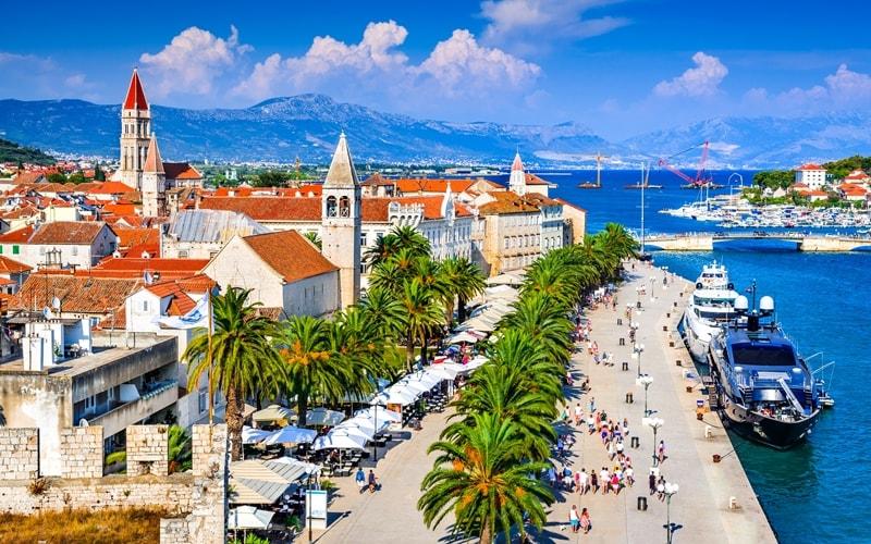 Kroatien Städte Trogir Altstadt