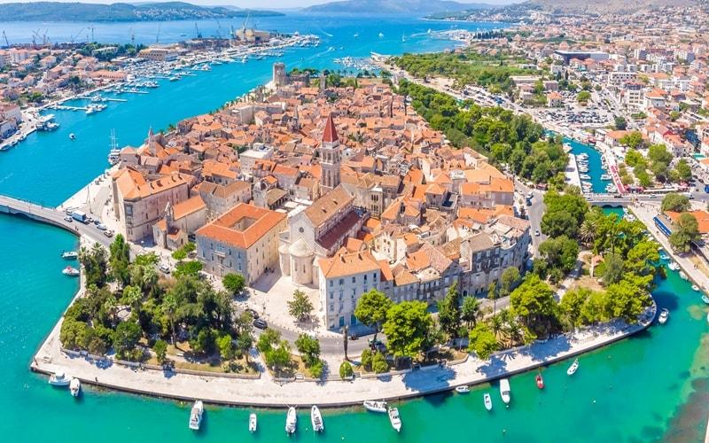 Kroatien Städte Trogir