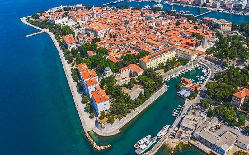 Kroatien Städte Zadar Altstadt