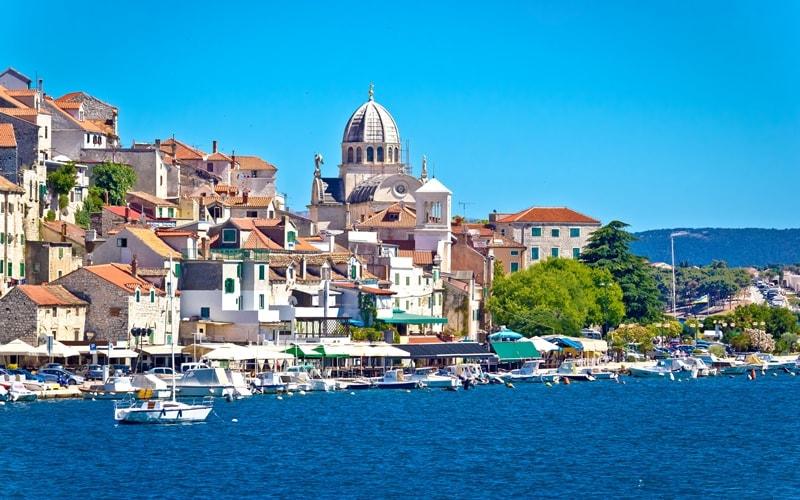 Kroatien Städte am Meer Sibenik Altstadt