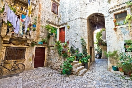 Kroatien Städte am Meer Trogir