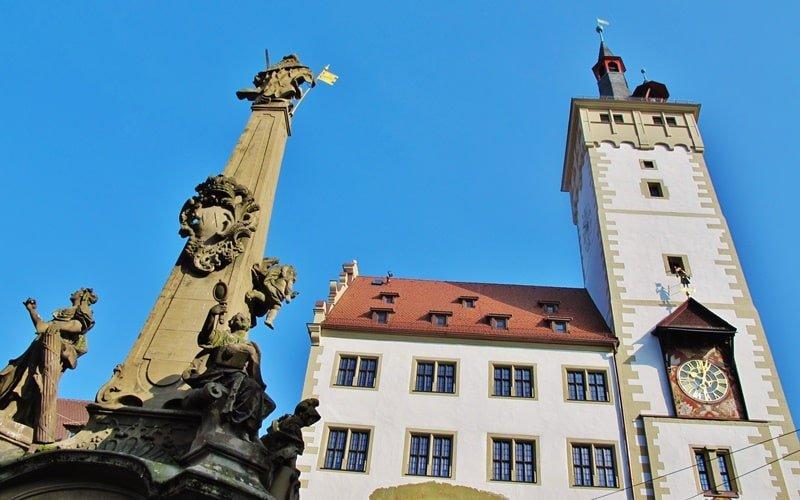 Rathaus Grafeneckart Würzburg