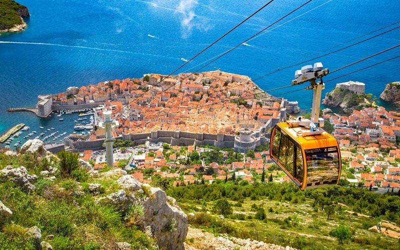 Regionen Kroatien Dubrovnik