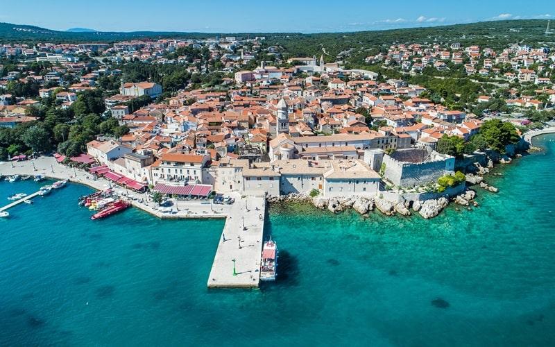 Regionen Kroatien Krk