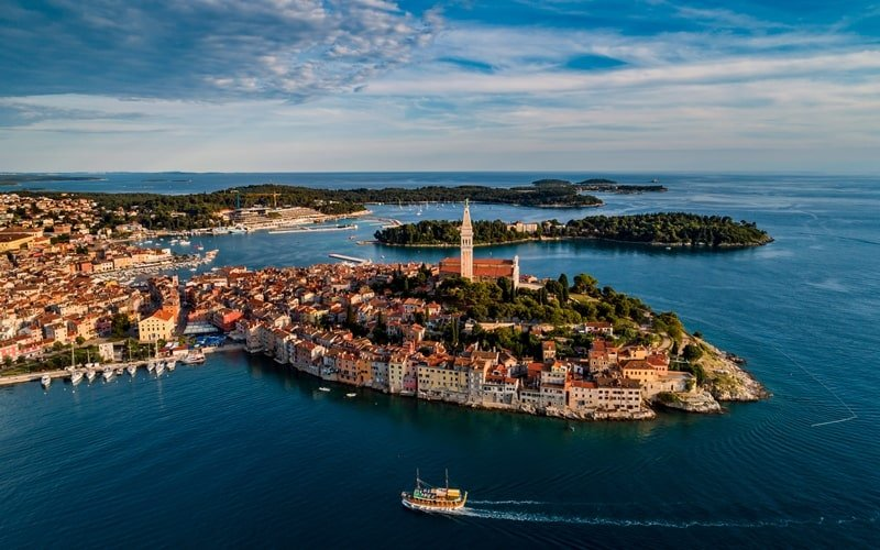 Regionen Kroatien Rovinj