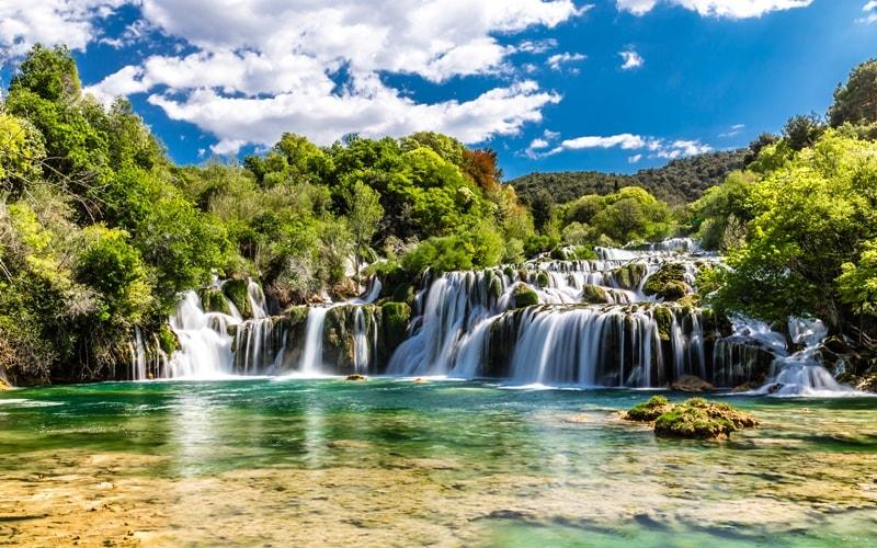 Regionen Kroatien Sibenik-Knin Krka