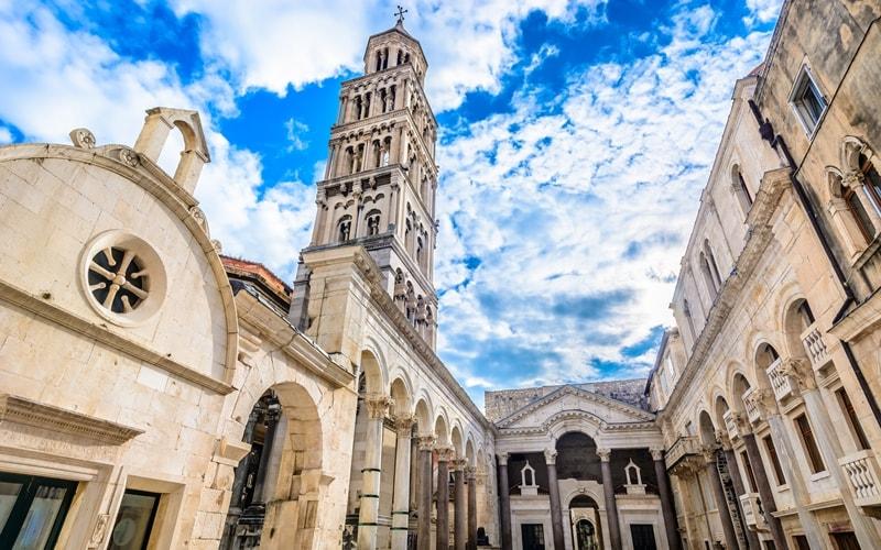 Regionen Kroatien Split Kirche
