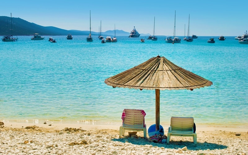 Regionen Kroatien Zadar Dugi Otok