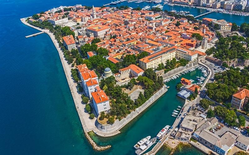 Regionen Kroatien Zadar