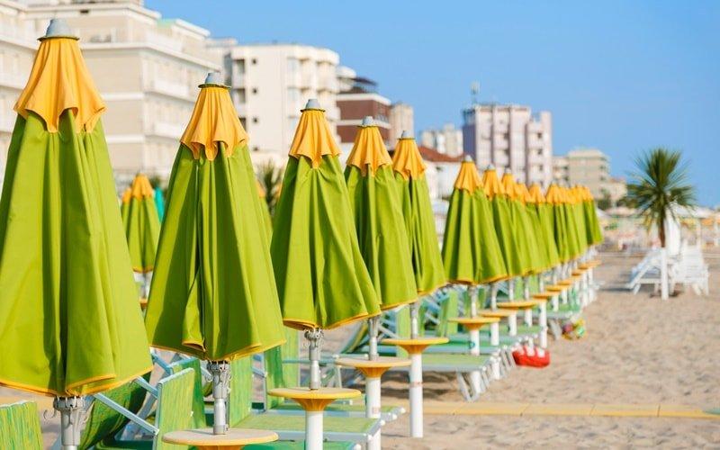 Rimini Urlaub Hotel am Strand
