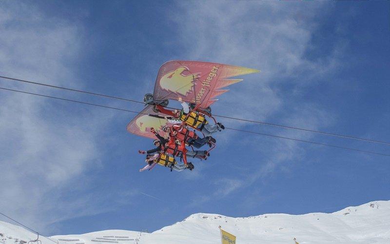 drachenflieger skigebiet österreich