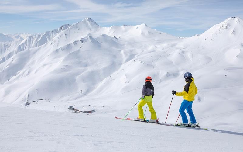 gute skigebiete in Österreich