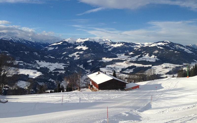 Ski-Hütte österreich ski