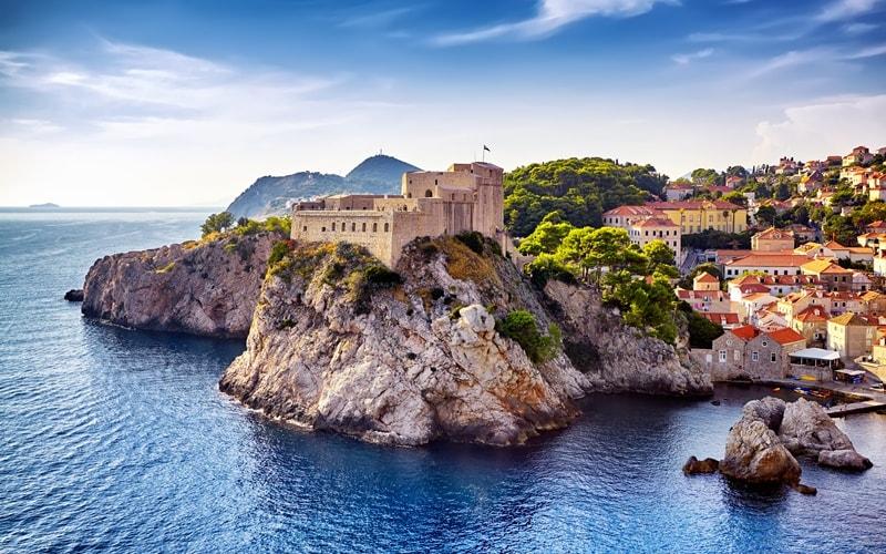Städte Kroatien Dubrovnik Sehenswürdigkeiten