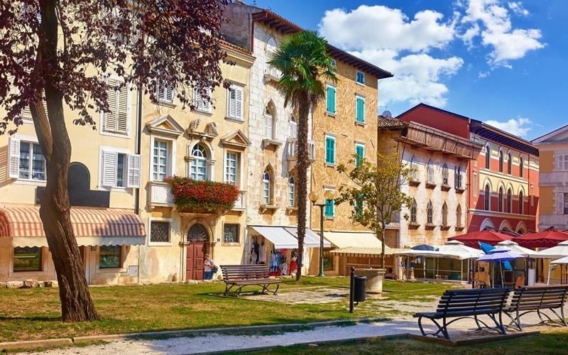 Städte Kroatien Porec Altstadt