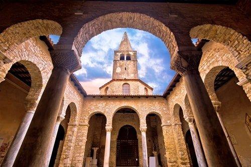 Städte Kroatien Porec Euphrasius Basilika