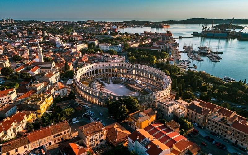 Städte Kroatien Pula Istrien