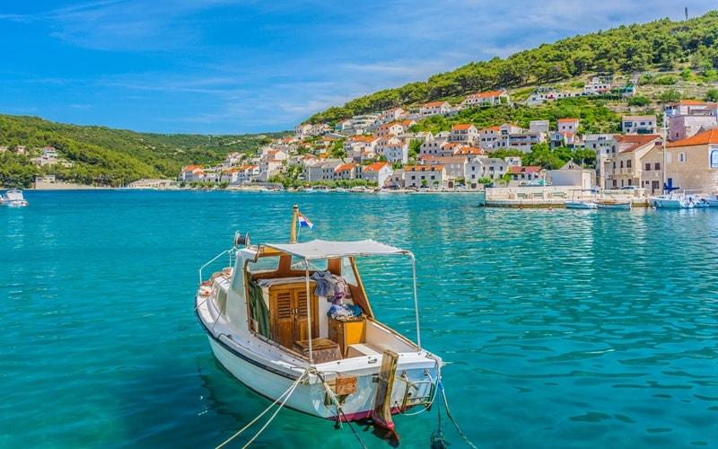 Städte Kroatien am Meer Bol