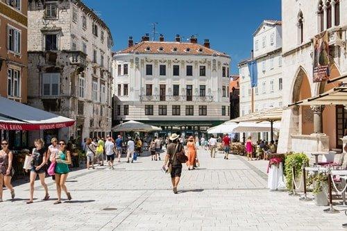 Städte Kroatien am Meer Split Sehenswürdigkeiten