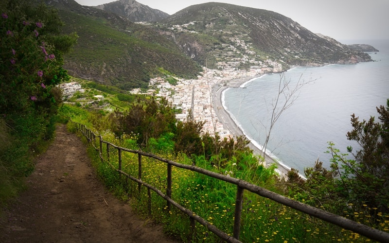 Wandern Lipari
