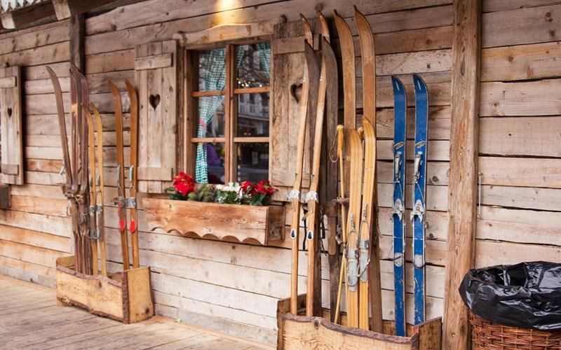 chalet österreich ski