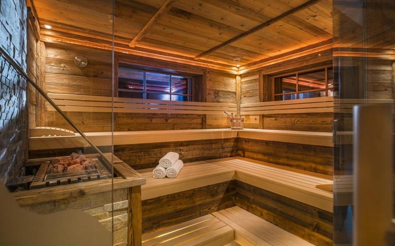 chalet sauna söllberg wiese