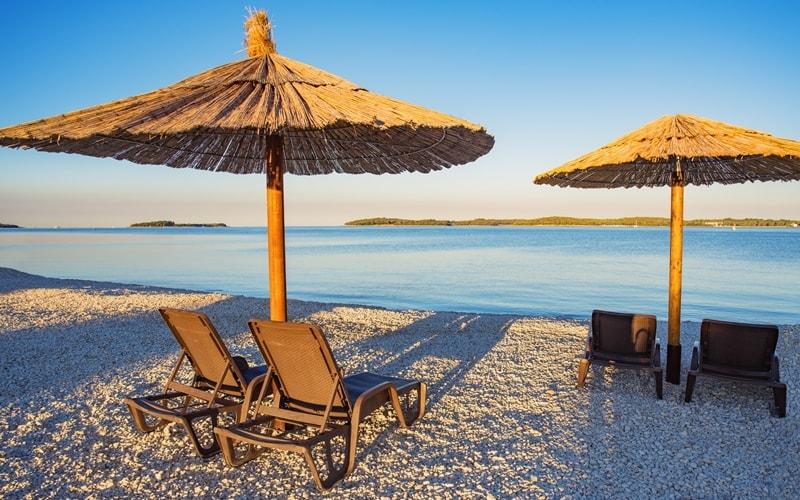 Aquapark Fazana Kroatien
