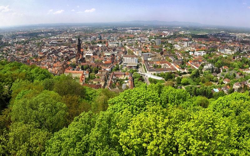 Aussicht Freiburg