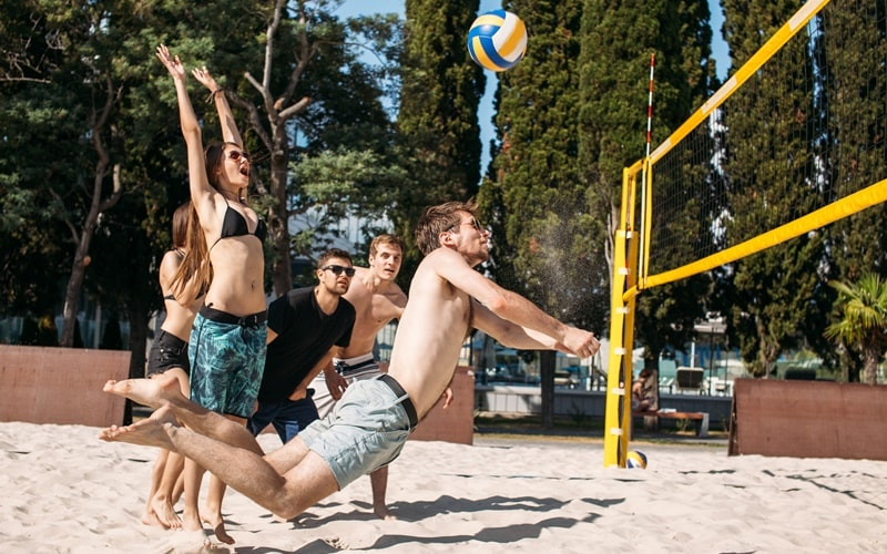 Beachvolleybald Kristall Palm Beach