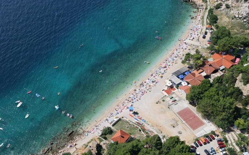 FKK Camping Kroatien Bunculuka Übersicht