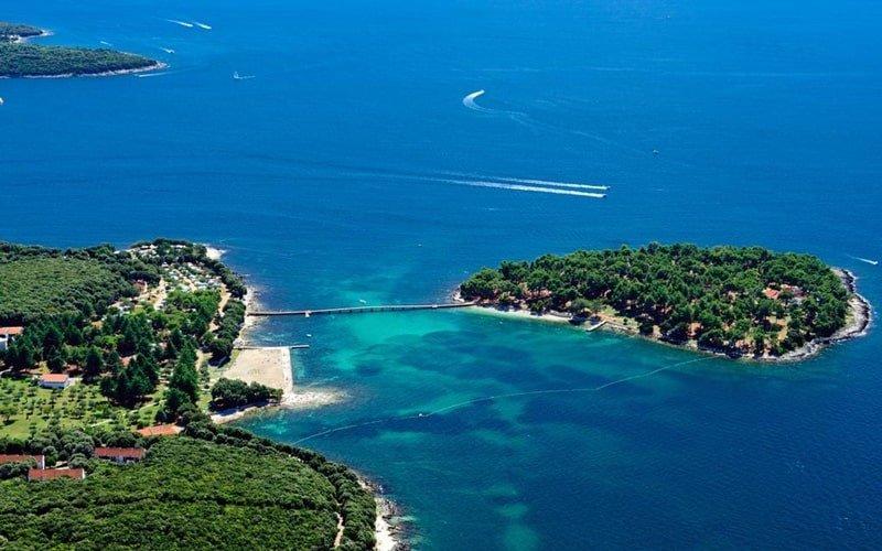 FKK Camping Kroatien Koversada Vrsar Überblick