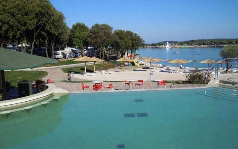 FKK Camping Kroatien Naturist Camp Valalta Pool