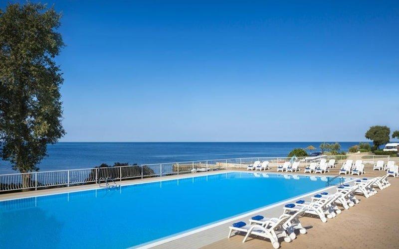 FKK-Camping Kroatien Solaris Pool