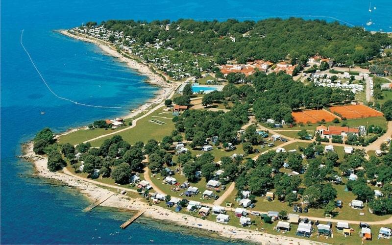 FKK-Camping Kroatien Ulika Überblick