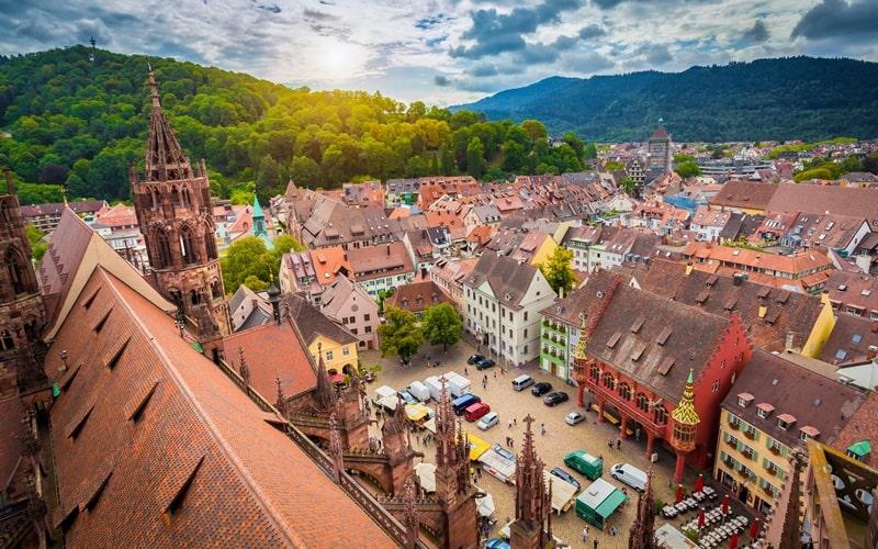 Freiburg Marktplatz