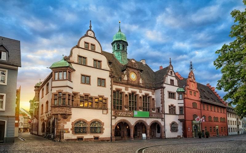 Freiburg Rathäuser