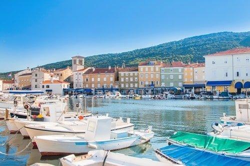 Inselhüpfen Kroatien Kvarner Bucht Cres