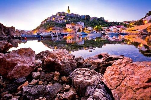 Inselhüpfen Kroatien Kvarner Bucht Krk