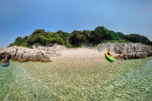 Inselhüpfen Kroatien Kvarner Bucht Silba