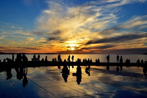 Inselhüpfen Kroatien Kvarner Bucht Zadar