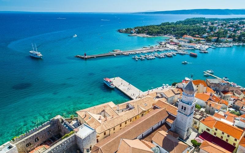 Inselhüpfen Kroatien Kvarner Bucht