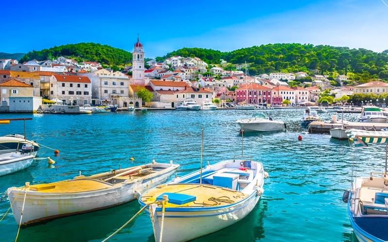 Inselhüpfen Kroatien Motorsegler
