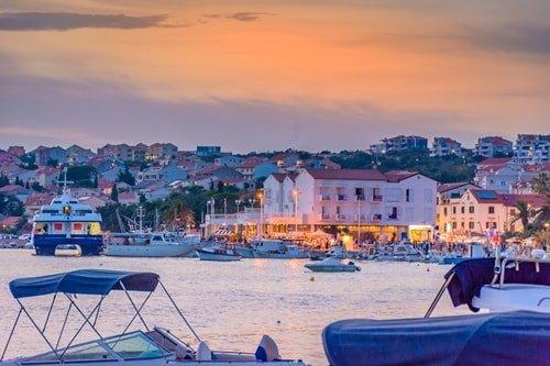Inselhüpfen Kroatien Novalja Pag