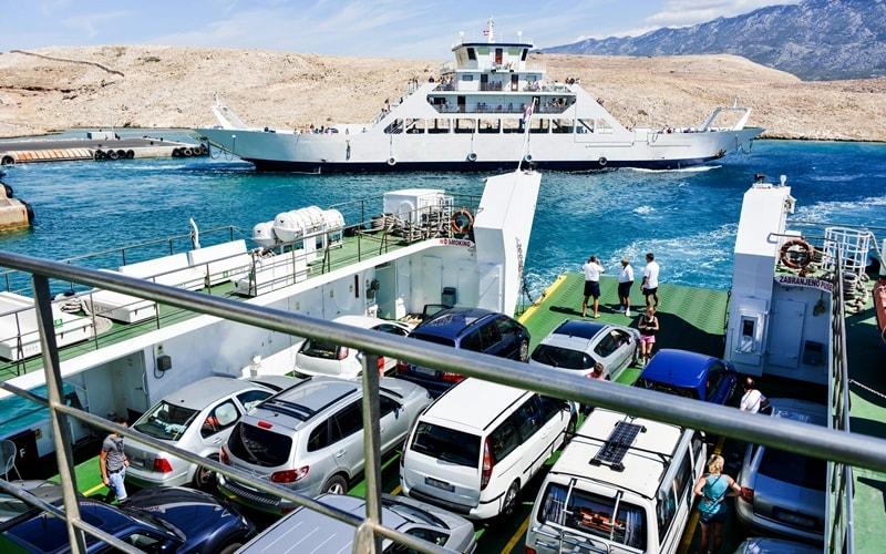 Inselhüpfen Kroatien Schiff