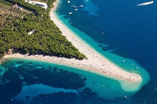 Inselhüpfen Kroatien Split Brac