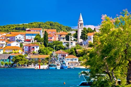 Inselhüpfen Kroatien Ugljan