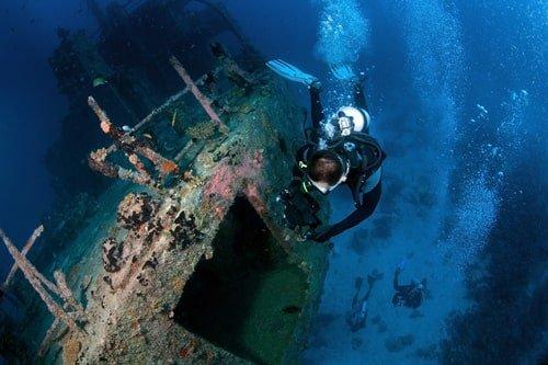 Tauchen Kroatien Schiffswrack