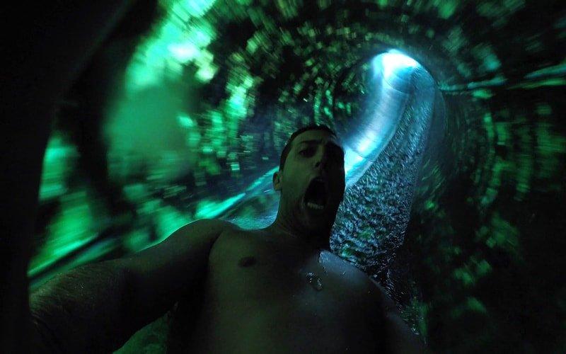 Wasserparks Kroatien Aquacolores Porec Wasserrutsche