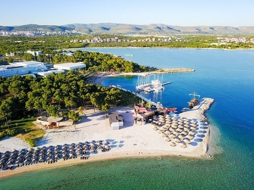 Wasserparks Kroatien Aquapark Camp Solaris
