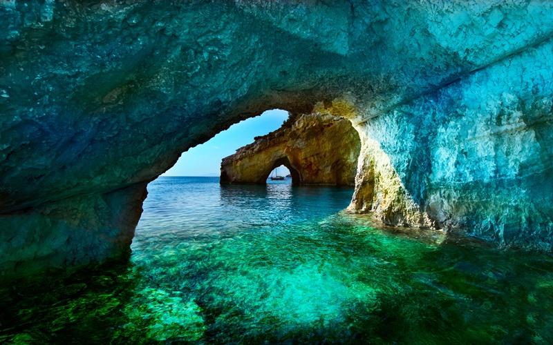 zakynthos sehenswürdigkeiten blaue grotten